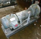 Used- Durco Mark III Centrifugal Pump, Size 2K2X1-10A/80 RV, Carbon Steel. 2