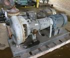 Used- Durco Mark III Centrifugal Pump, Size 2K3X2-13/101 RV, Carbon Steel. 3