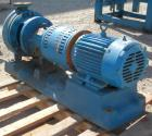 Used- Goulds Centrifugal Pump, Model 3196, size 1.50X3-10, carbon steel. 3