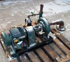USED: ITT Marlow centrifugal pump, model 1 1/4.9SLS, carbon steel. 2