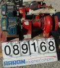 Used- ITT Bell & Gossett Centrifugal Pump, model 4AC-5.25BF, carbon steel. 5