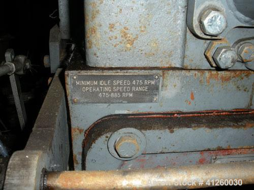 Used-Worthington Water Pump driven by a White Superior natural gas engine, model 6-G825, 427 hp, 885 rpm.