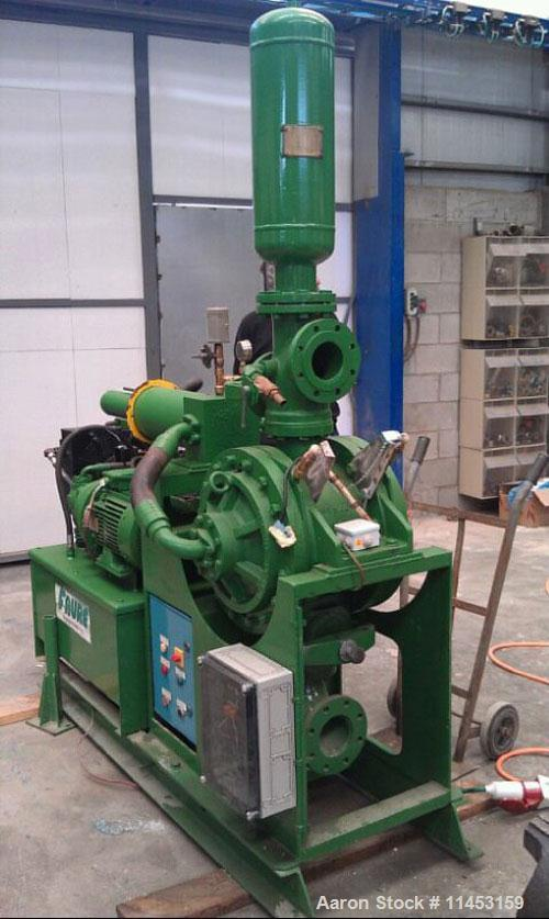 Used-Faure Piston/Membrane Pump.  Flow rate is approximately 1500 liters (400 gallon).  Pressure is 15 bar (225 psi).  Hydra...