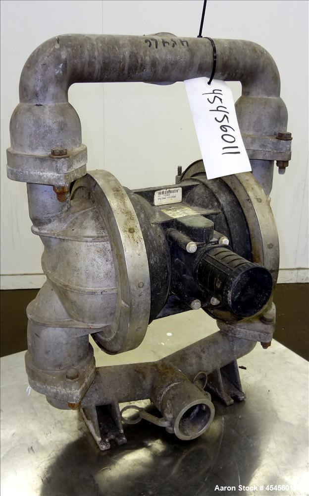 Used- Jesco Double Diaphragm Pump, Model LAB-2-NPT