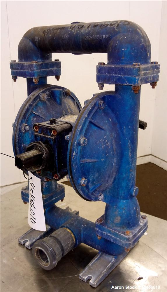 Used- Double Diaphragm Pump