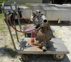 Used- Husky Air Operated Double Diaphragm Pump, Series B99A, 316 Stainless Steel. 2