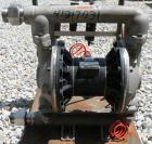 Used- Husky Air Operated DoubleDiaphragm Pump, Series E98A, 316 Stainless Steel.2