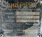 Used- Warren Rupp Sandpiper Air Powered Double Diaphragm Pump, model PB2-A, type TGN-3-PP, polypropylene. Rated 0-115 gallon...