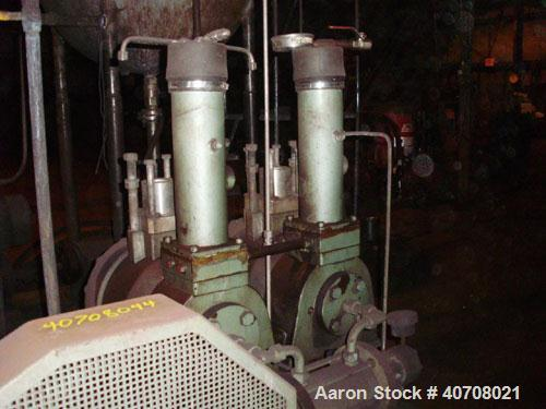 Used-Toyo Positive Displacement Slurry Pump HDP (Hose Diaphragm Pump) driven by a 7.5 hp WEG motor.  This unit is manufactur...