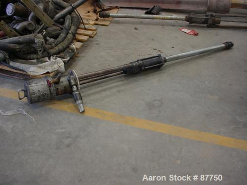 Used- Graco Air Operated Drum Unloading Pump, Model 205-038, Series F89L. Approximately 10 gallons per minute, 120 psi, 3:1 ...