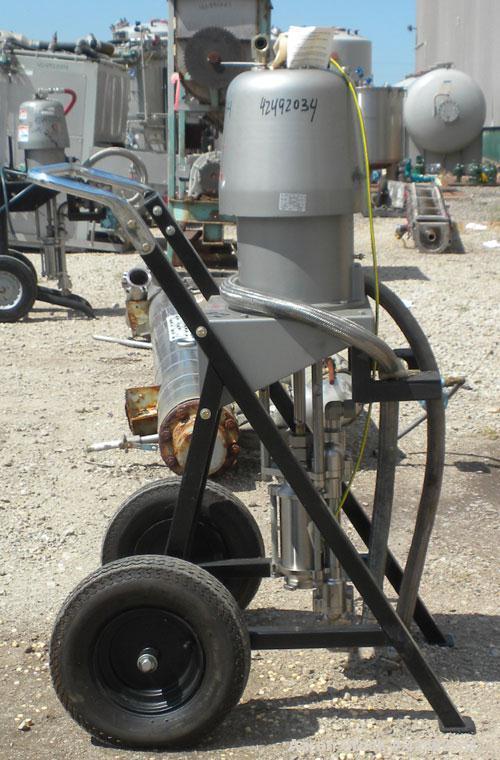 Used- Graco Air Operated Bulldog High-Flo Circulation Pump, Part #220578, Series K02C