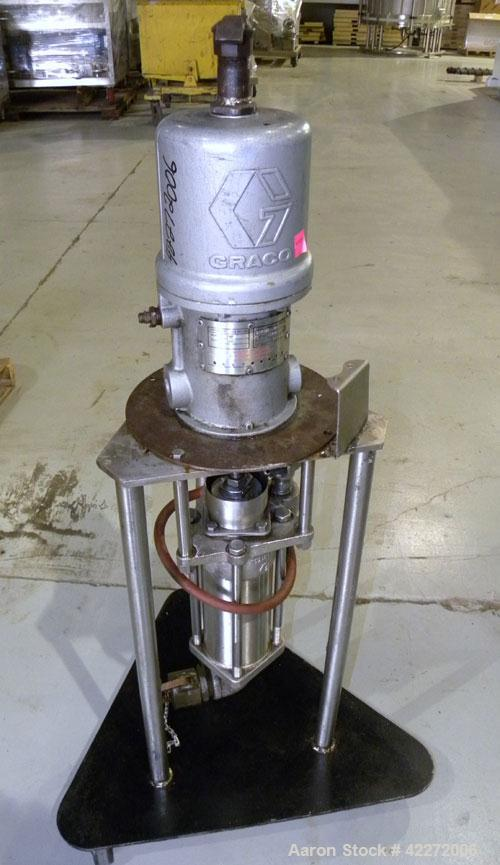 Used- Graco Air Operated President Series Drum Pump, Model 952920