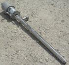 Used- Graco Drum Pump, Model 207-352, Series G01F, 304 stainless steel. Approximately 42