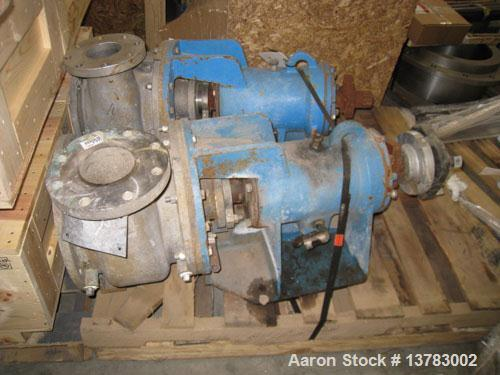 Used-Gorator model 6x4x10 ON, rebuilt.