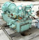 Used- Oilgear Hydraulic Unit, Model DH1217. 20 hp, 3/60/230/460 volt, 1175 rpm XP motor. Maximum 1700 psi. Includes a reserv...