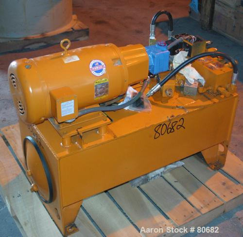 Used- Vickers Hydraulic Power Pack. 10 hp, 3/60/208-230/460 volt, 1725 rpm motor.