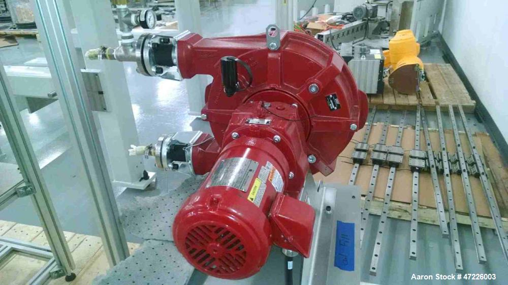 Unused- Waston-Marlow Bredel Hose Pump, Model 32. Approximate capacity 20 gallons per minute, 0.165 gallons displacement per...