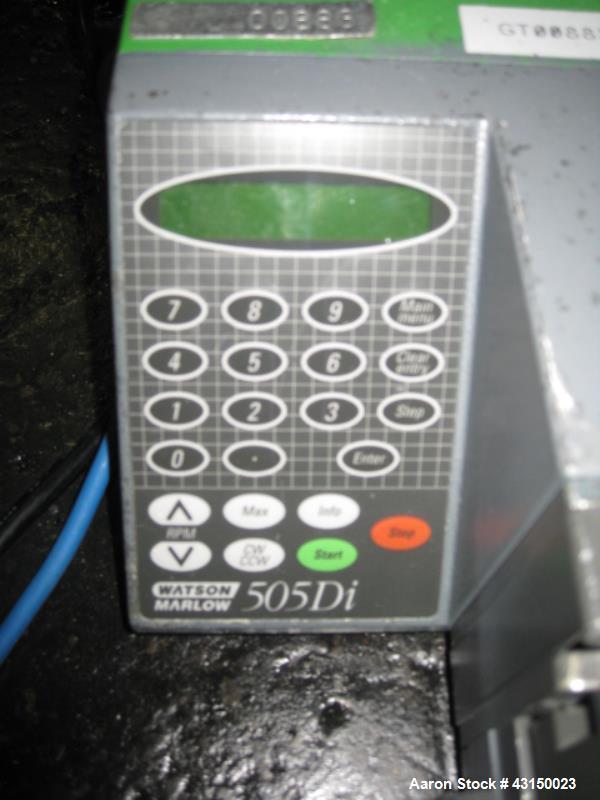 Used- Watson Marlow peristaltic pump.