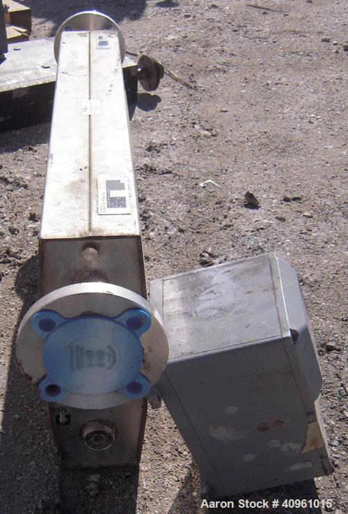 Used- ABB InstrumentationK-Flow Mass Flow Meter, Model K-500, 316 stainless steel. Sensor 700221. Mass meter control box, m...