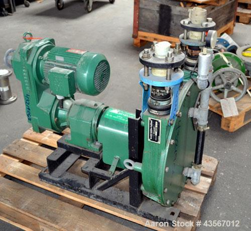 Used- Cast Steel Bredel Hose Pump, Type SP-40