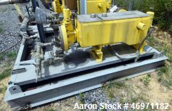 Used- Milton Roy Metering Pump, Model MCH4818HPBCDE2SEST11NN11. Rated 422 gallons per hour at 220 psi. Driven by a 3hp, 3/60...