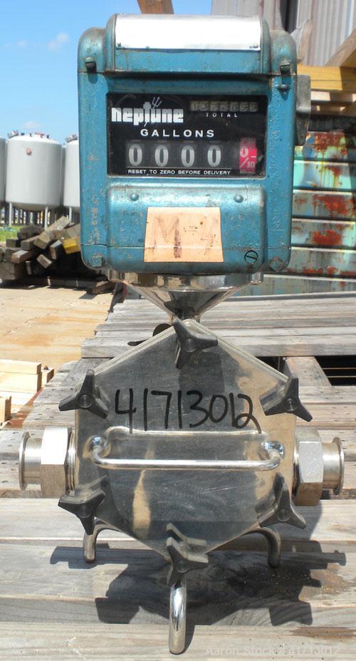 Used- Neptune Metering Pump, Model 431 (Stainless steel housing)