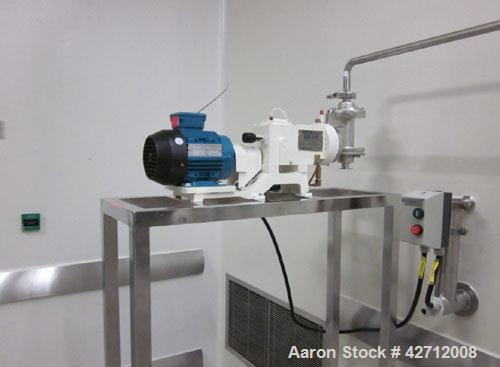 Used-Pulsafeeder Diaphragm Metering Pump, Model 880CIP-S-E,StainlessSteel. Mounted on astand. PRICE INCLUDES A 15% BUYER...