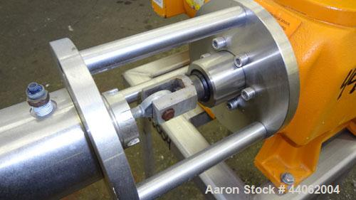Used- Stainless Steel ProMinent Makro Plunger Metering Pump