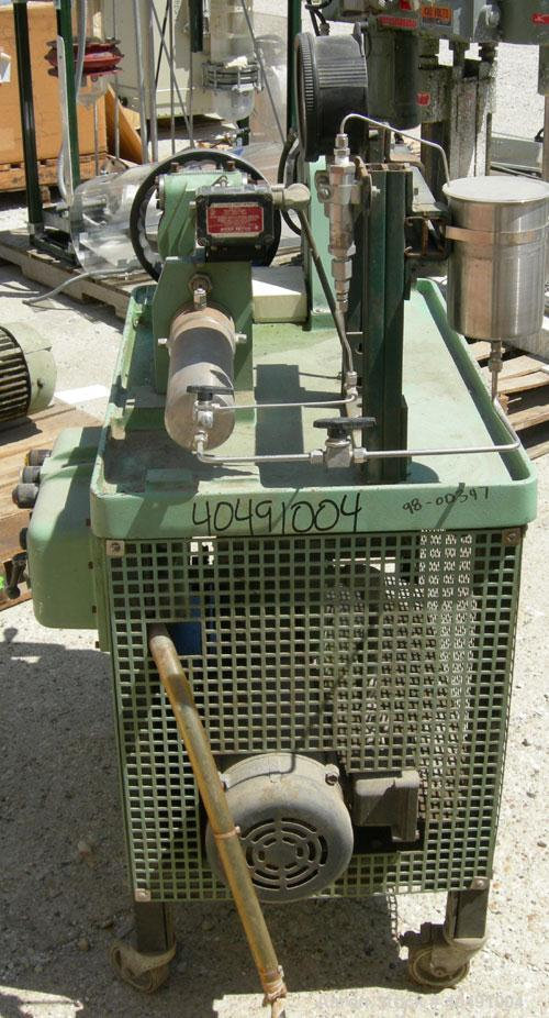Used- Stainless Steel Ruska Proportioning Pump, Model 2256WI