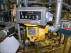 Used- Liquid Controls Group Positive Displacement Meter, Model M-7-16. Flow rate 20-100 gallons per minute, maximum pressure...