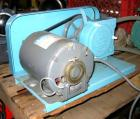 Used- Little Giant Peristalic Pump, Model LG30L. 1/3 hp belt driven. Base mounted.