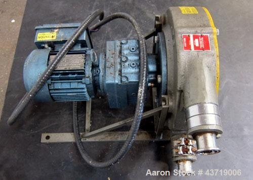 Used- Wanner Engineering Vector Series Peristaltic Hose Pump, Model 2005-HF-CC-A.  Approximate 2 gallons per minute, displac...