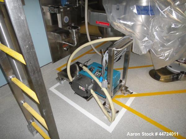 Used- Watson Marlow Model 704 U/R Peristaltic Pump with integrated flow meter.