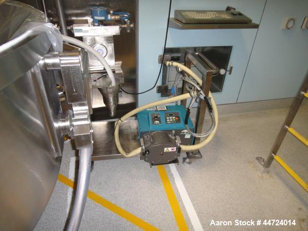 Used- Watson Marlow Model 704 U/R Peristaltic Pump with integrated flow meter