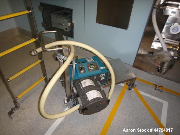Used- Watson Marlow Model 704 U/R Peristaltic Pump with integrated flow meter