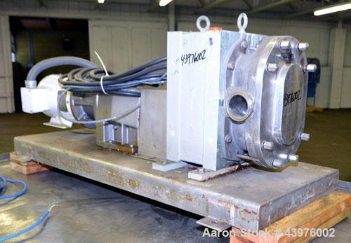 Used- Stainless Steel Fristam Circumferential Piston Positive Displacement Pump,