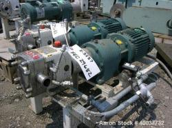 Used- Stainless Steel APV Rotary Lobe Pump, Model M1S/021/10