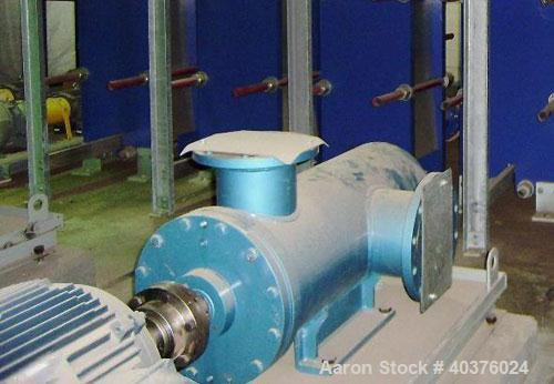 Unused- Plenty Triro model HEA90-3, 6 x 4 positive displacement fuel pump with Leeson 30 hp motor, frame: 326T, 575 v/60 hz/...
