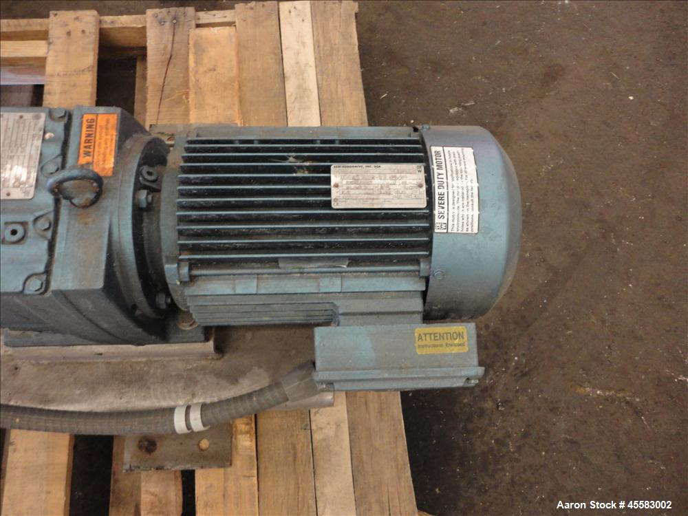 Used-Stainless Steel SINE Sanitary Rotary Positive  Dispacement Pump