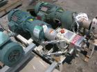 Used- Stainless Steel APV Rotary Lobe Pump, Model M1S/021/10