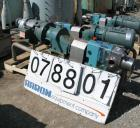 Used- GH Products Rotary Positive Displacement Pump, Model GHP-1120, 316 Stainless Steel. 2