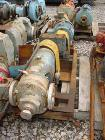 Used- Stainless Steel Uniflo rotary positive displacement pump, model RPD3