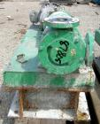 Used- Viking Heavy Duty Rotary Pump, Model KK4724, 316 Stainless Steel. Approximately 50 gallons per minute at 420 rpm. 2