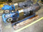 Used- Viking Industrial Duty Rotary Gear Positive Displacement Pump, model LL124A, carbon steel. Approximately 140 gallons p...