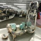 Used- Stainless Steel Waukesha Rotary Positive Displacement Pump, Model 015