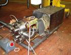 Used- Waukesha Universal Rotary Positive Displacement Pump, Model 130, stainless steel. Approximately 130 gallons per minute...