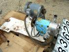 Used: Stainless Steel Waukesha Rotary Positive Displacement Pump