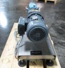 Used- Waukesha Rotary Lobe Pump, Model 018, Stainless Steel. 1.5