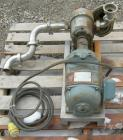 Used- Waukesha Rotary Positive Displacement Pump, Model 25, 316 Stainless Steel.1 1/2