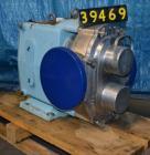 Used-Waukesha Model 320 Positive Displacement Pump, 6